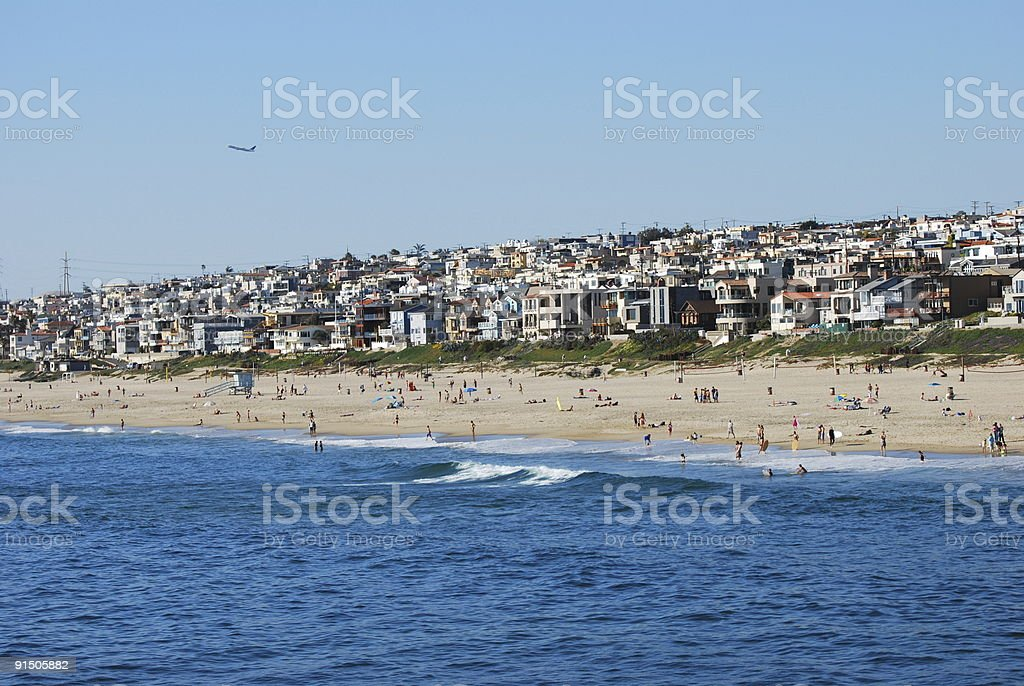 Manhattan Beach, Los Angeles royalty-free stock photo