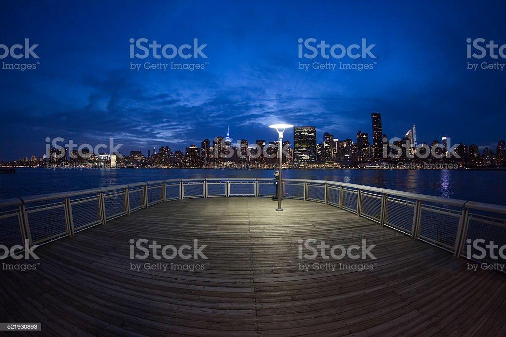 Manhattan Blues stock photo