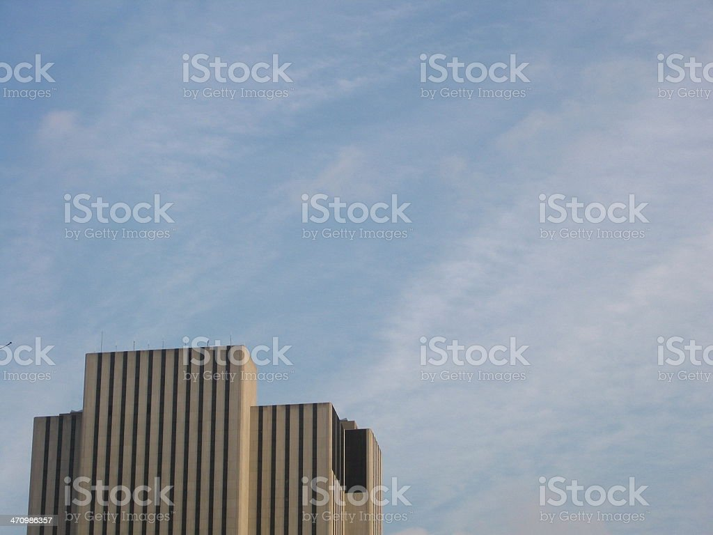 Manhattan Buildings - D royalty-free stock photo