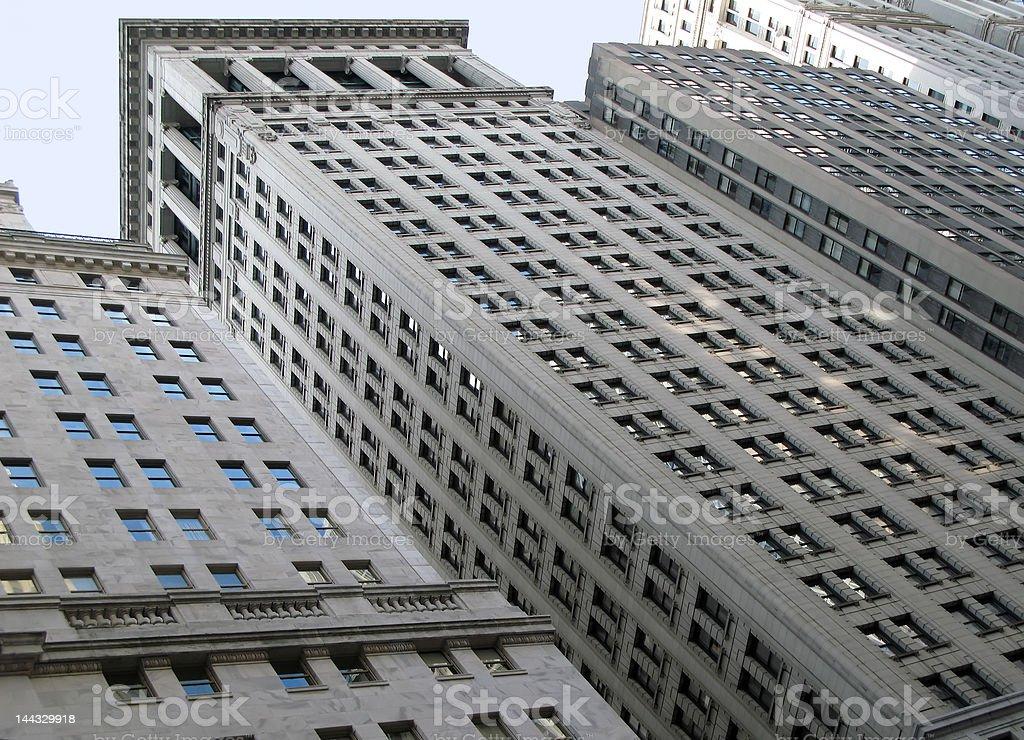 Manhattan Buildings royalty-free stock photo