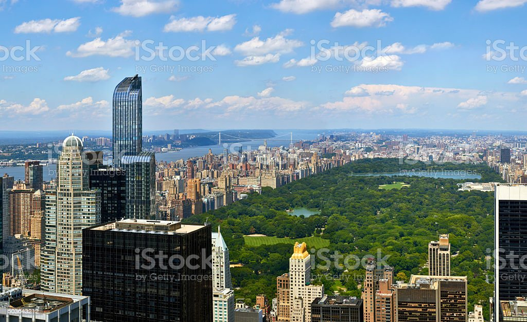 Manhattan Central Park stock photo