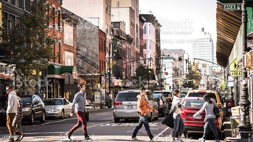 Manhattan City Life stock photo