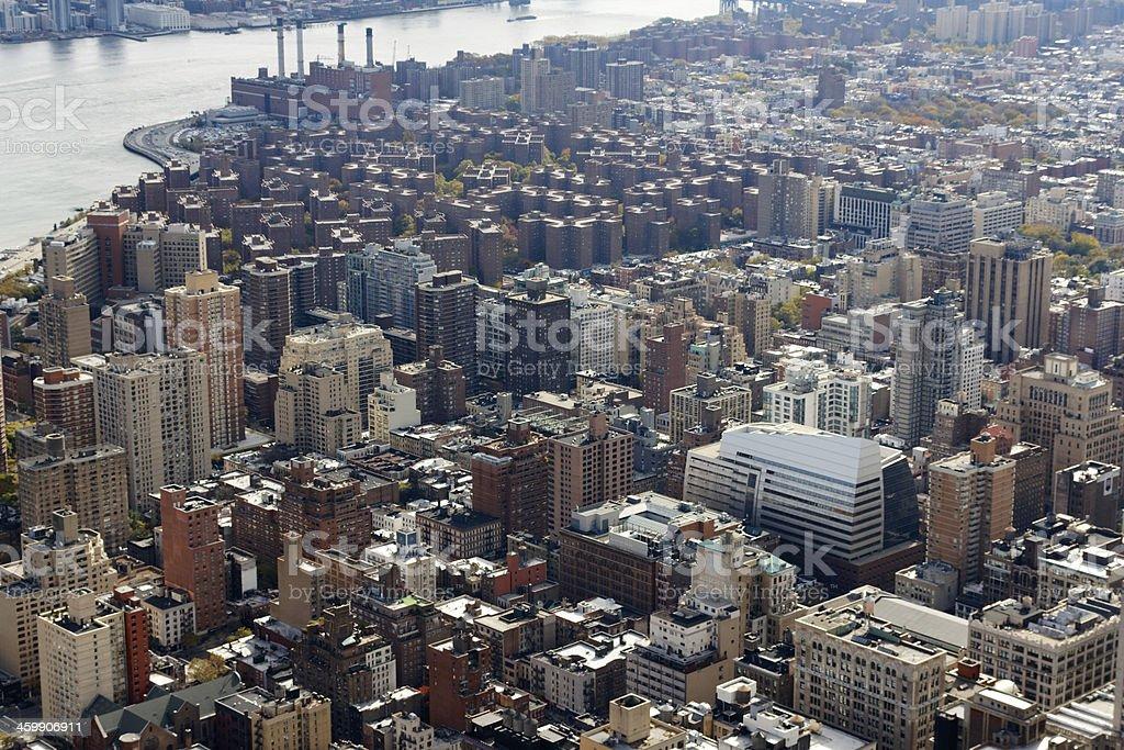 Manhattan East Side Cityscape stock photo