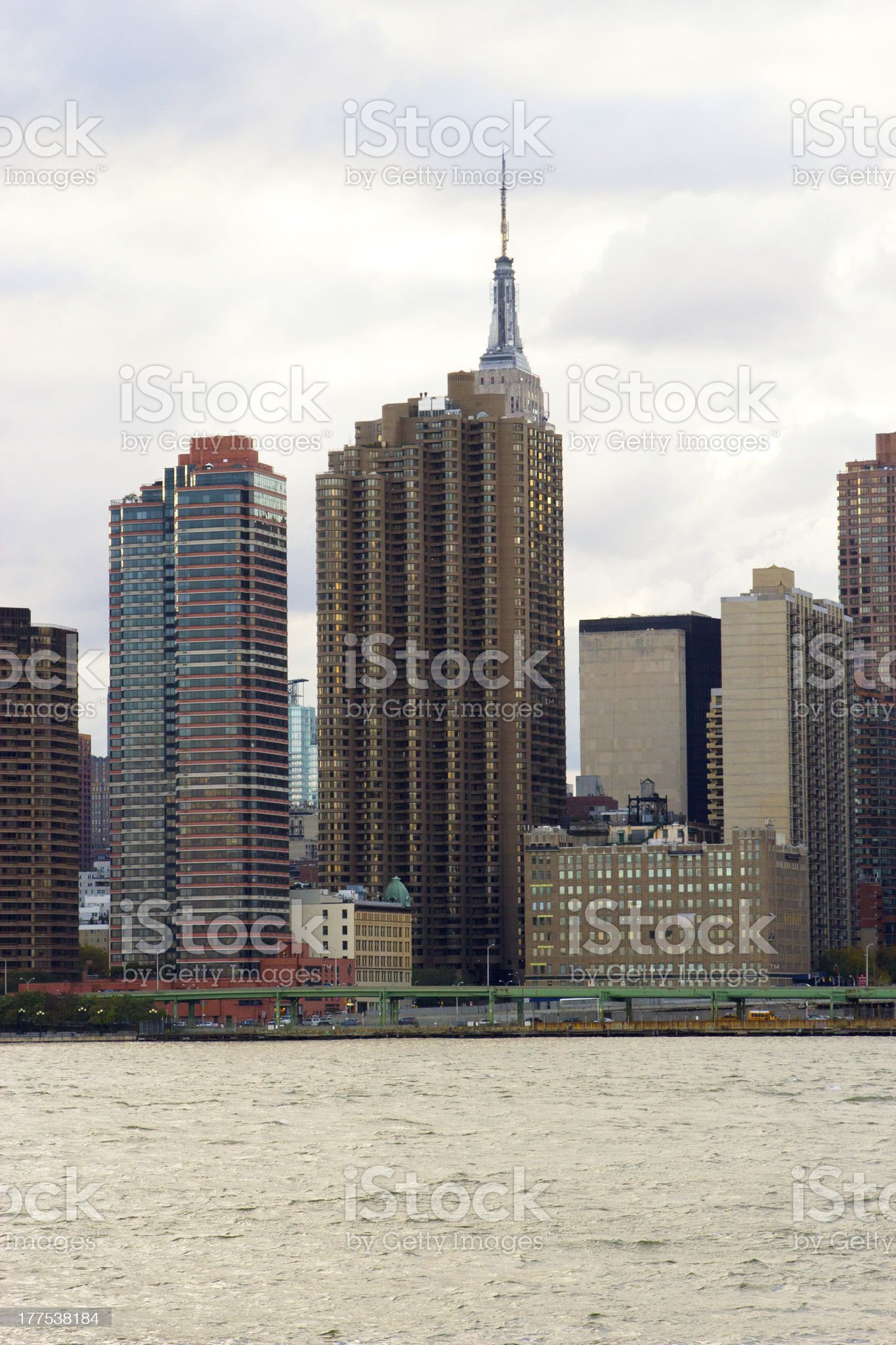 Manhattan East Side Residences, New York royalty-free stock photo