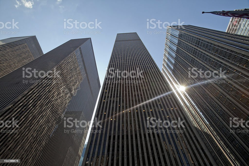 Manhattan. Financial District stock photo