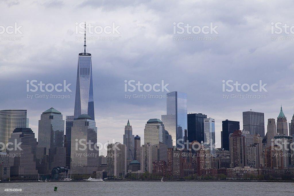 Manhattan in New York City stock photo