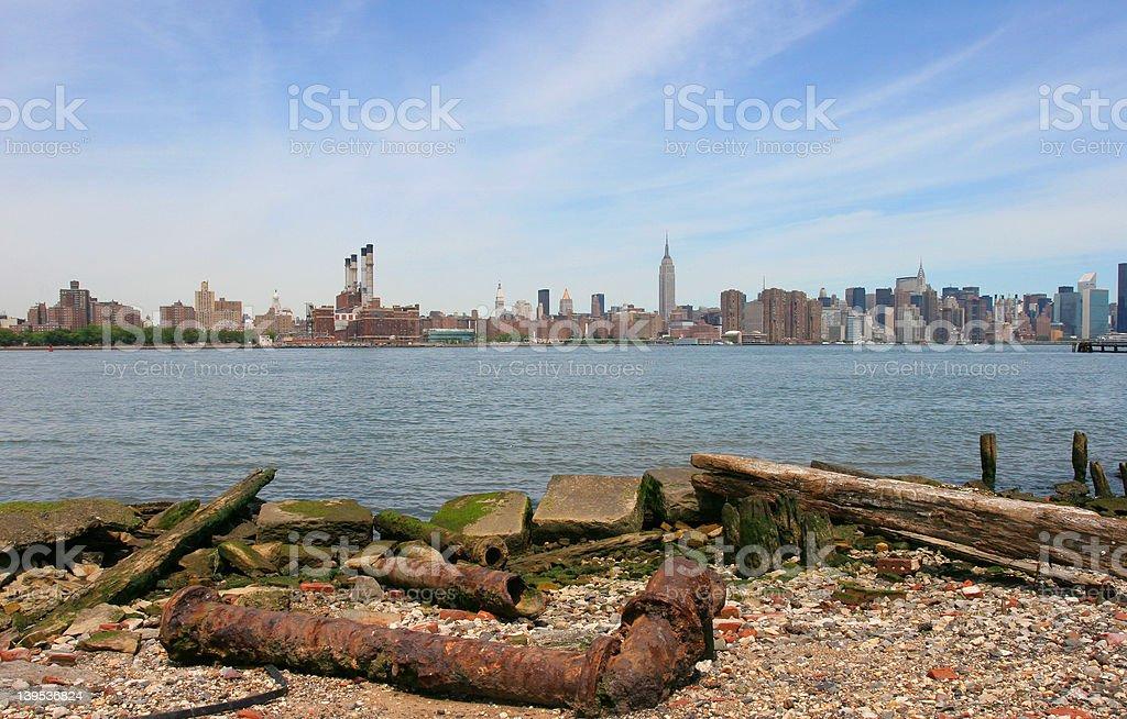 Manhattan Industrial royalty-free stock photo