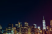 Manhattan New York City at Night