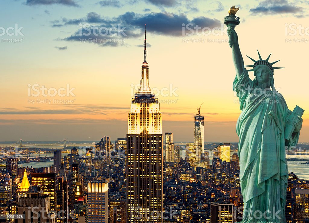 Manhattan New York City stock photo