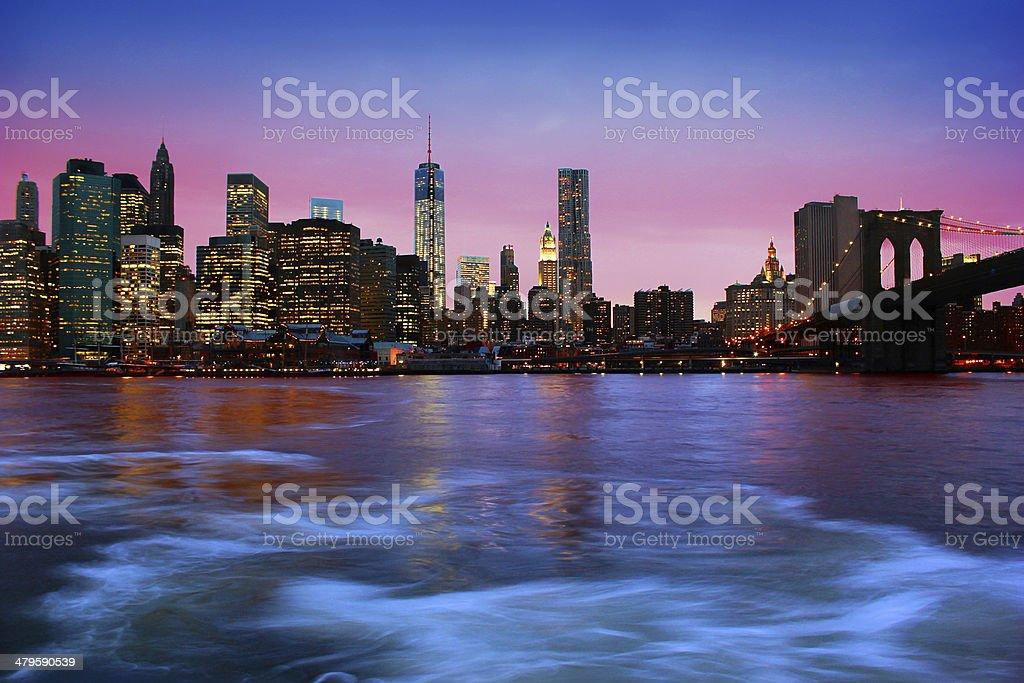Manhattan, New York City royalty-free stock photo