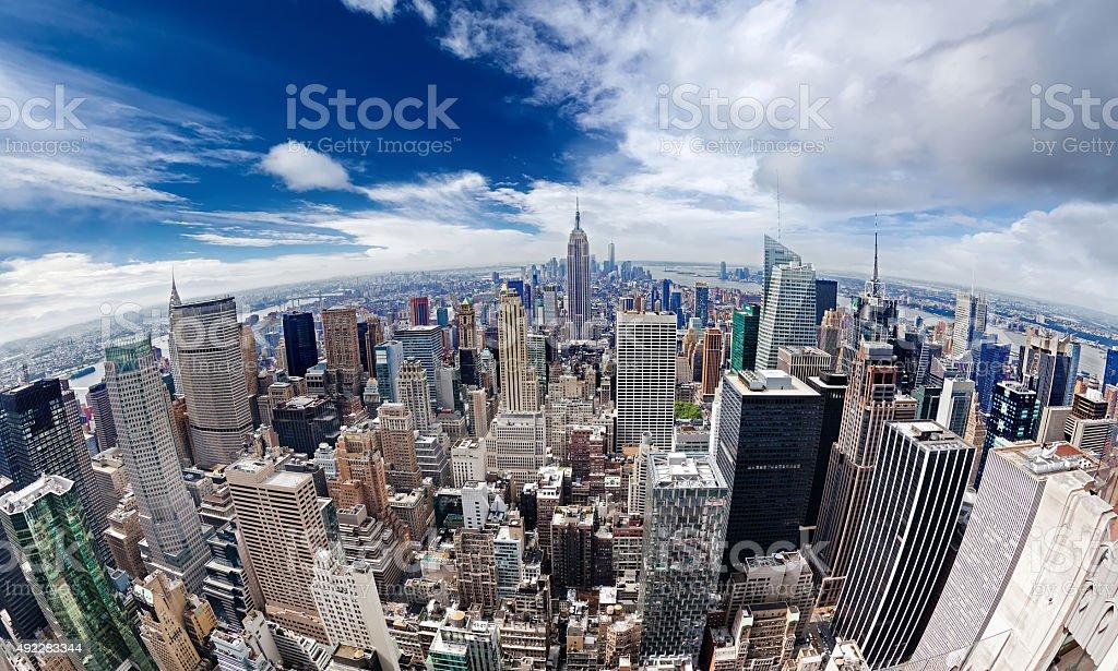 Manhattan - New York city stock photo