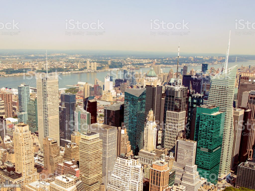 Manhattan, New York City, United States stock photo