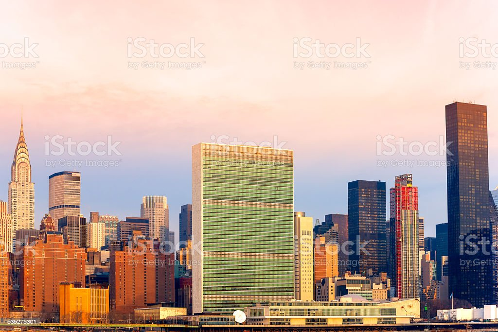 Manhattan, New York City. USA. stock photo