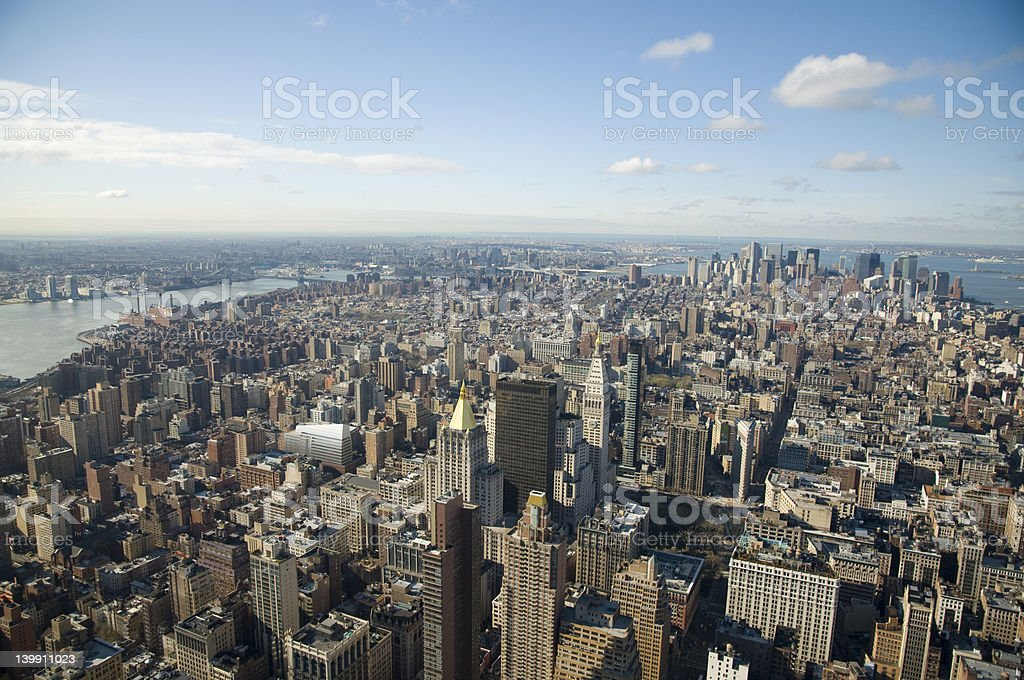 Manhattan, New York stock photo