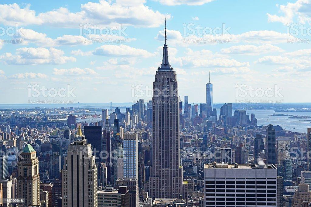 Manhattan New York stock photo