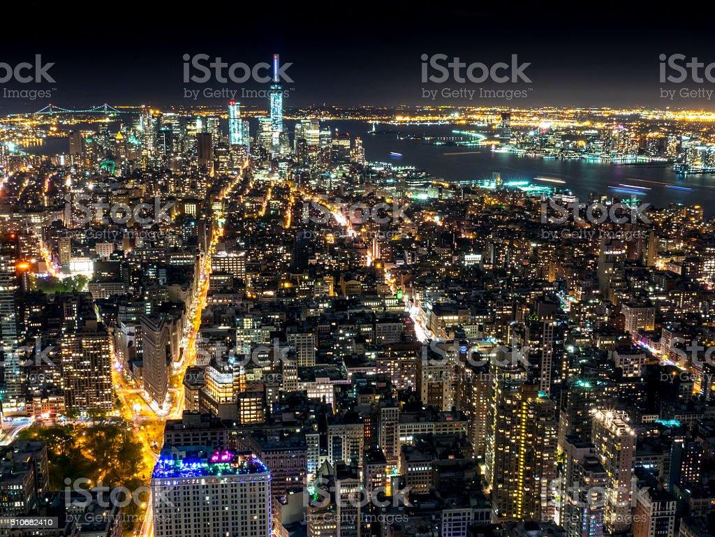 Manhattan New York royalty-free stock photo
