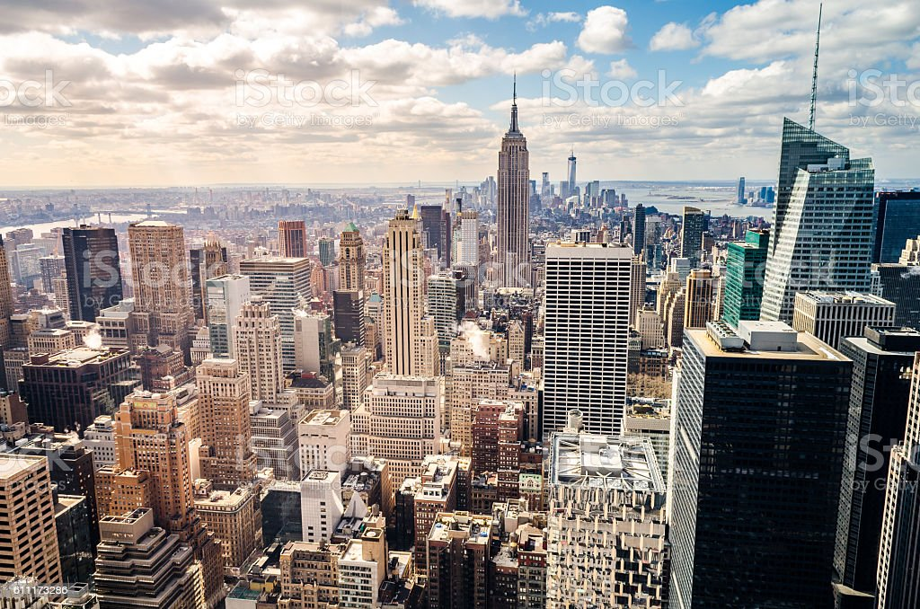 Manhattan, New York (USA) stock photo