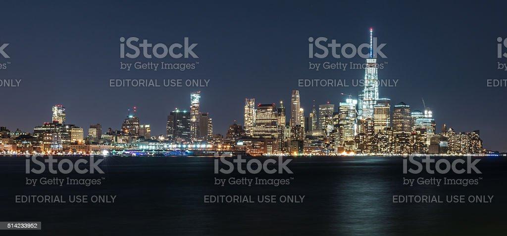Manhattan New York Skyline stock photo
