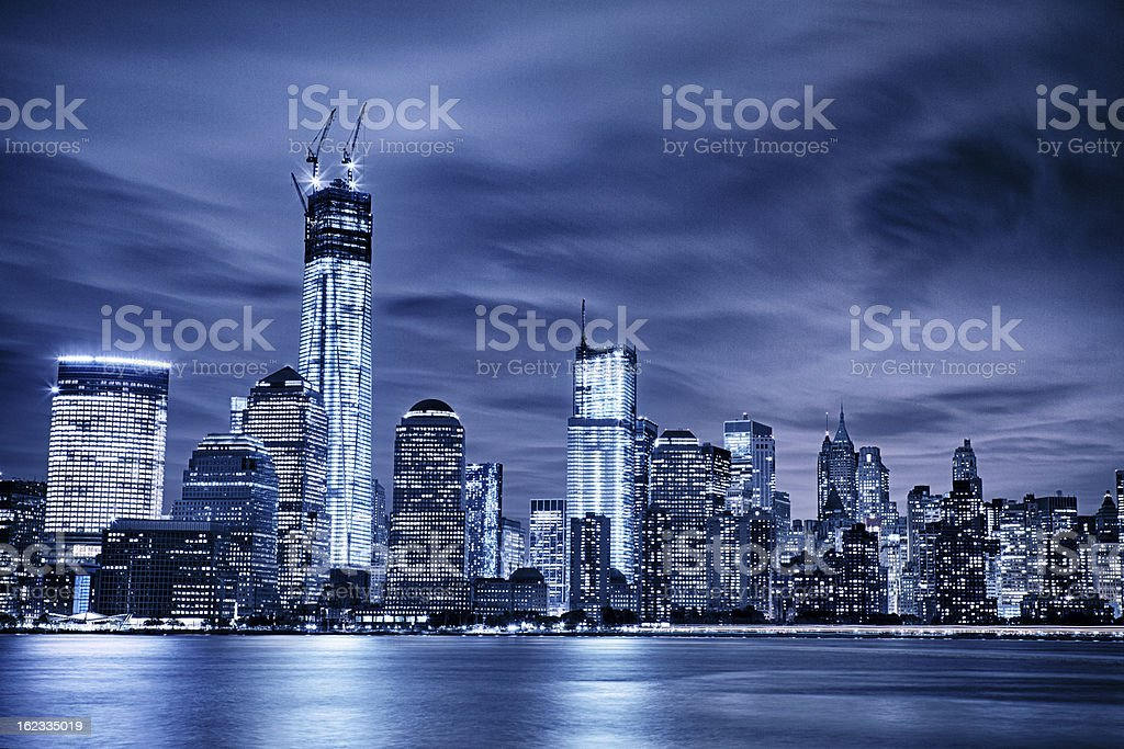 Manhattan royalty-free stock photo