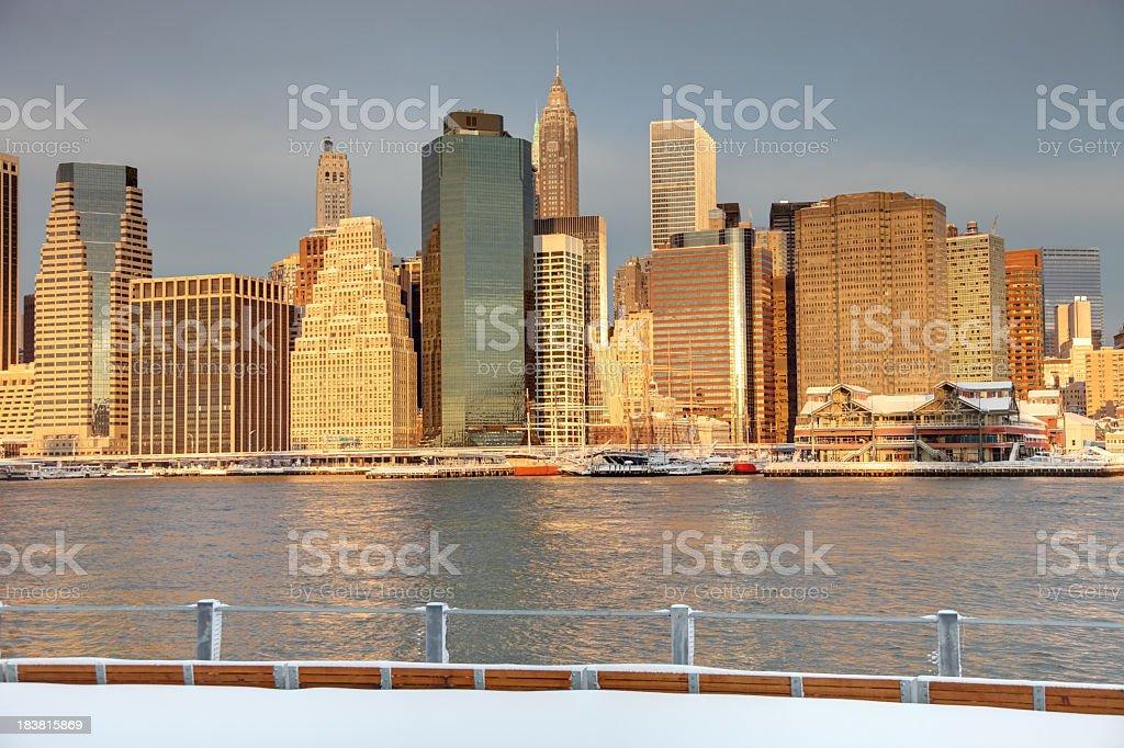 Manhattan royalty-free stock photo