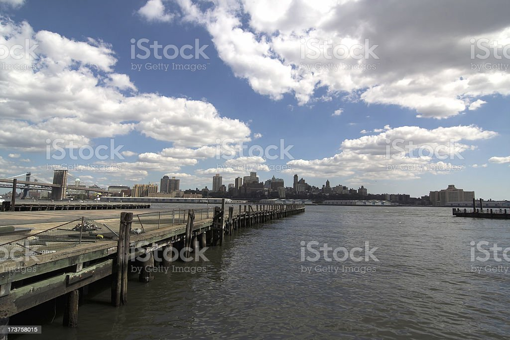Manhattan Pier royalty-free stock photo