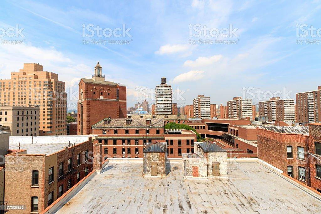 Manhattan Rooftops - New York City stock photo