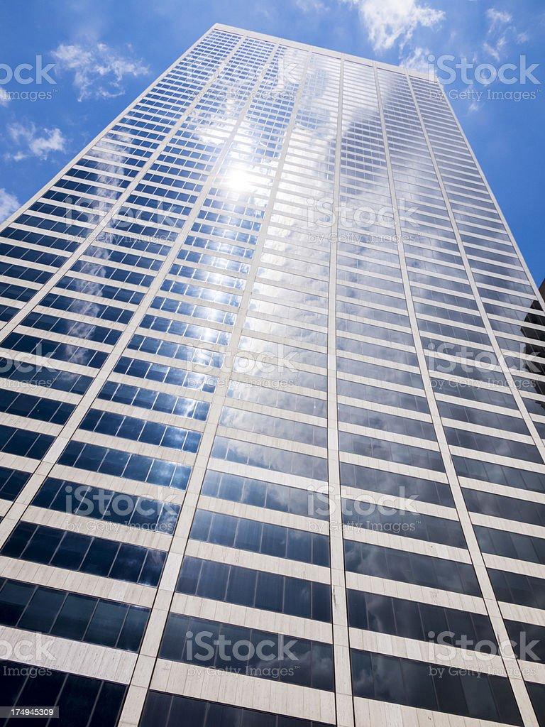 Manhattan Skyscraper stock photo