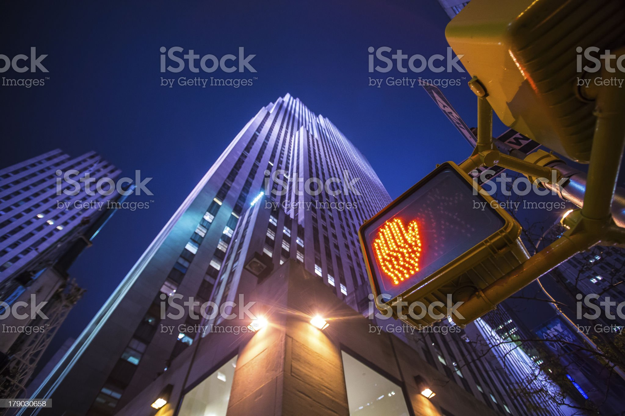 manhattan skyscraper royalty-free stock photo
