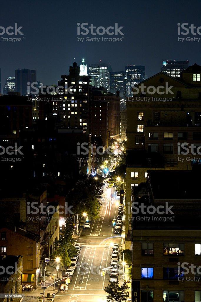 Manhattan Street Life stock photo
