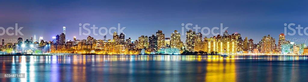 Manhattan Upper East side skyline stock photo