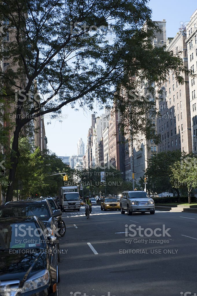 Manhattan upper west side royalty-free stock photo