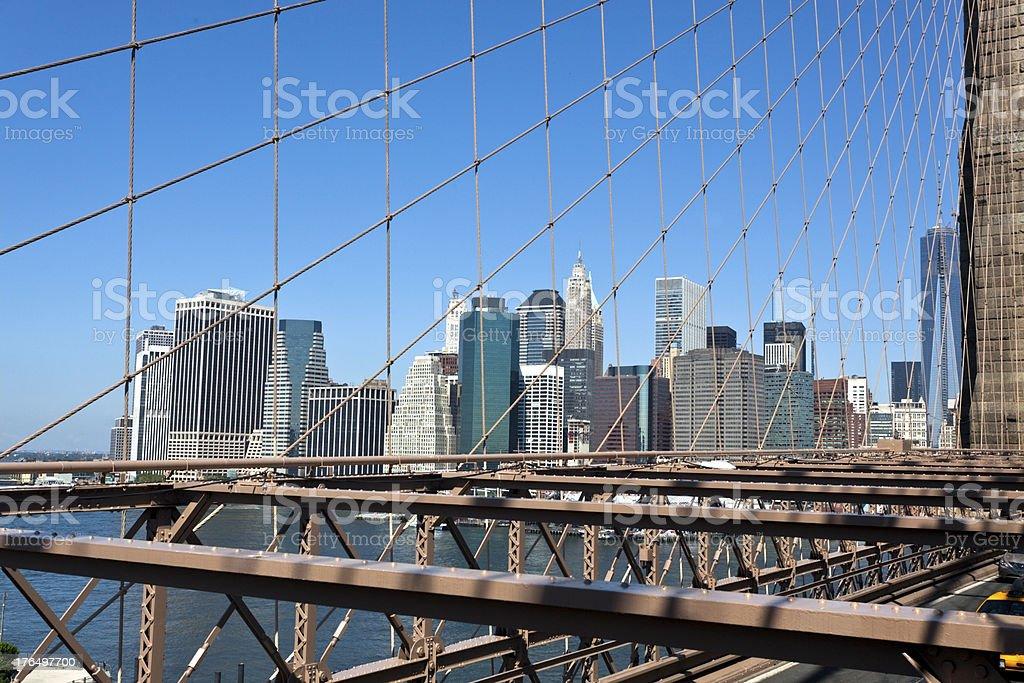 Manhattan View royalty-free stock photo