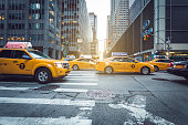 Manhattan yellow cabs