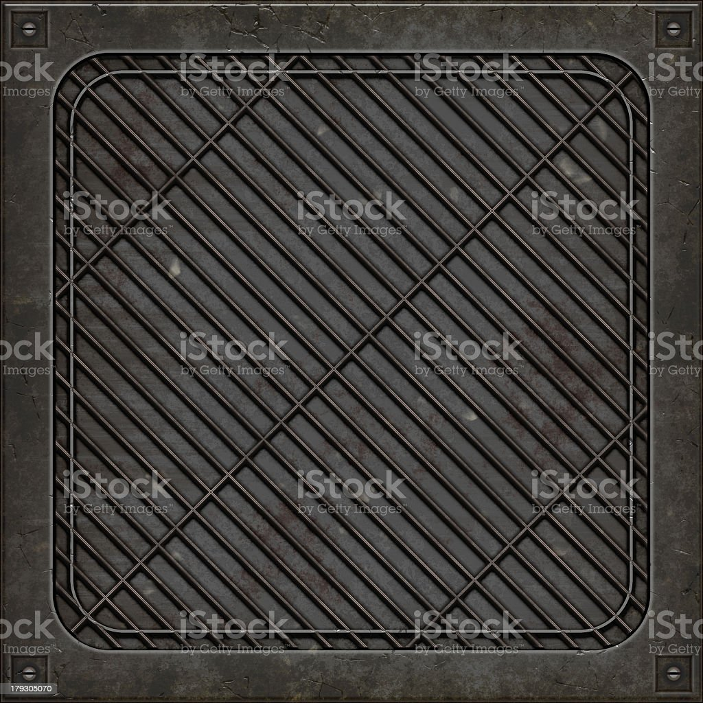 Manhole cover (Seamless texture) royalty-free stock photo