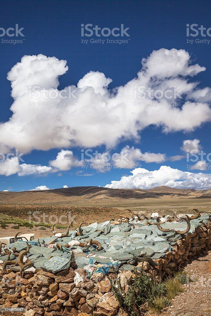 Mani stone mounds royalty-free stock photo
