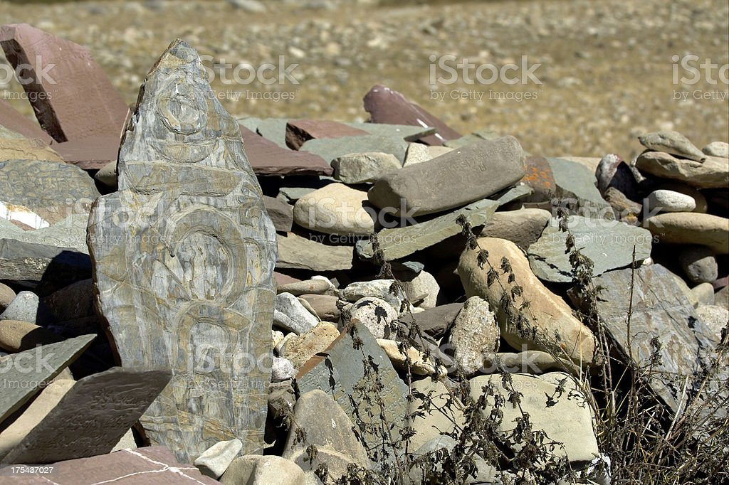 Mani Stone royalty-free stock photo