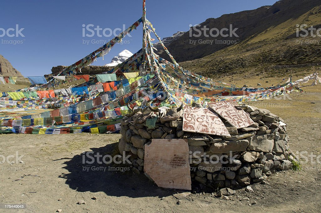Mani Stone Wall royalty-free stock photo