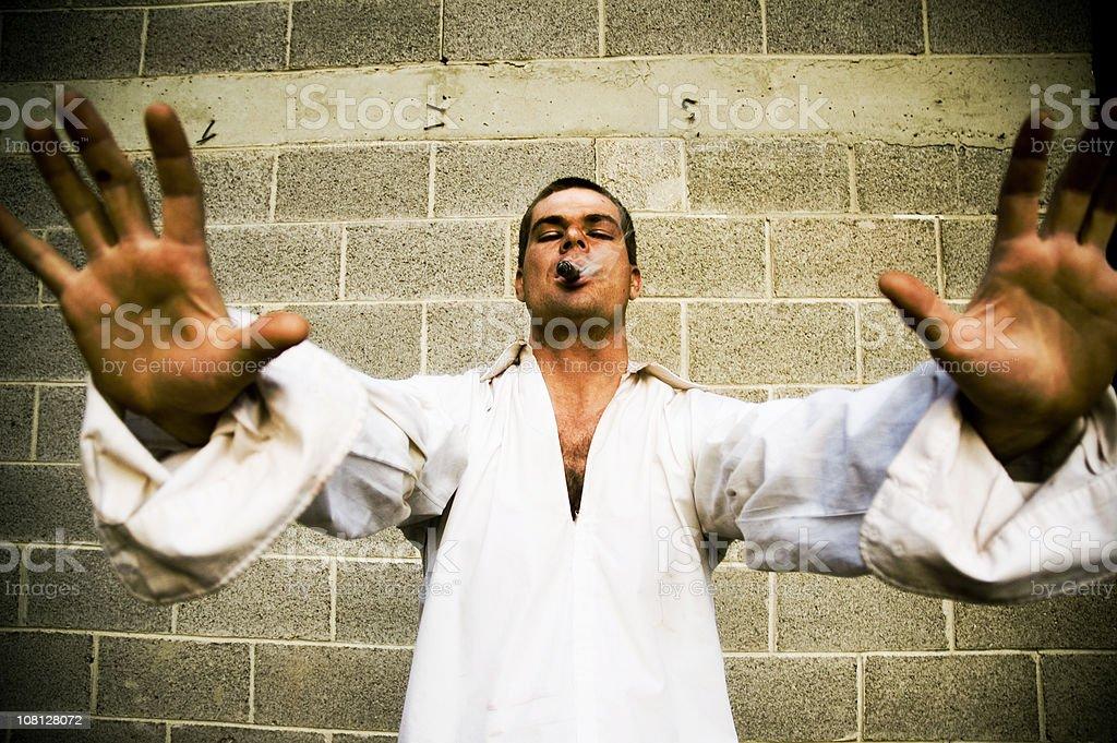 Manic Street Preacher royalty-free stock photo
