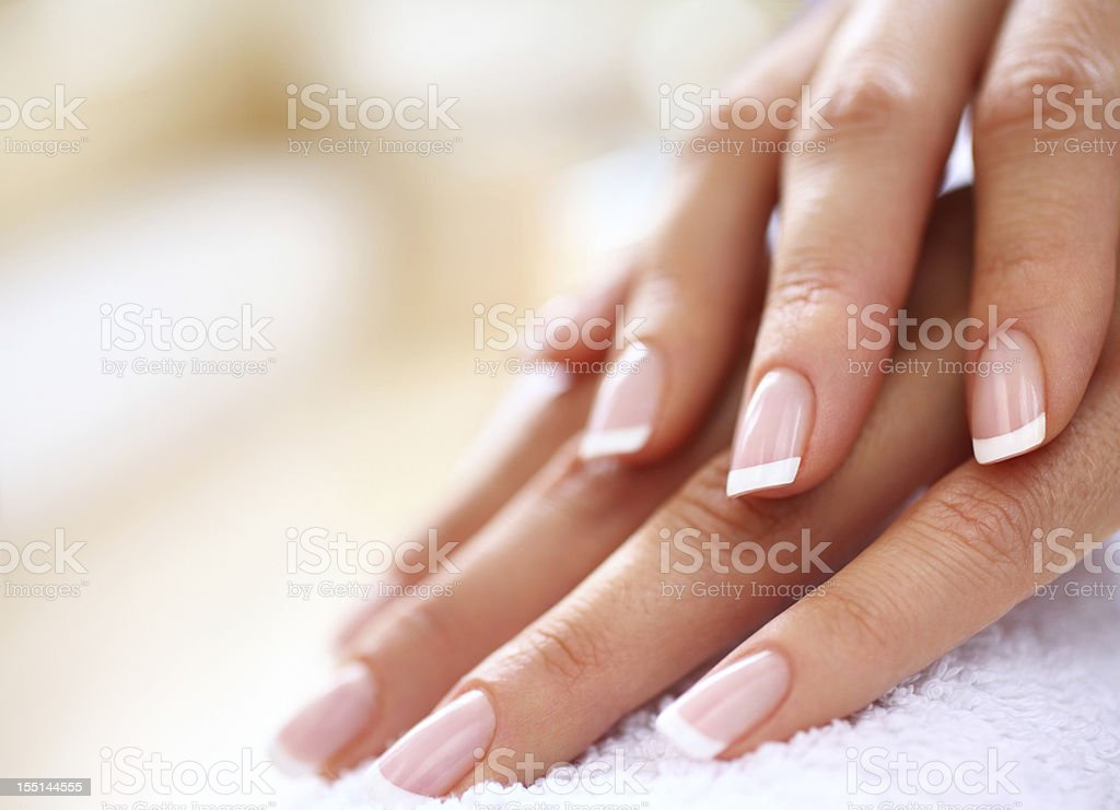 Manicure. stock photo