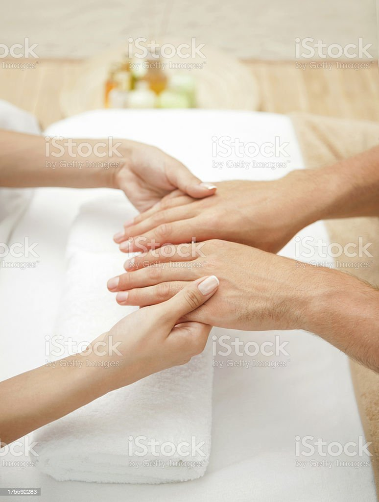 Manicure. royalty-free stock photo