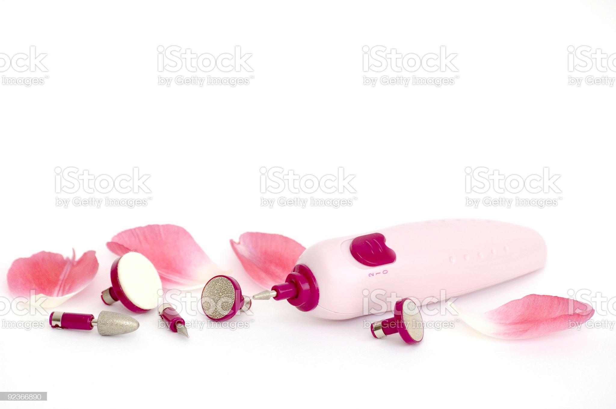 Manicure Set royalty-free stock photo