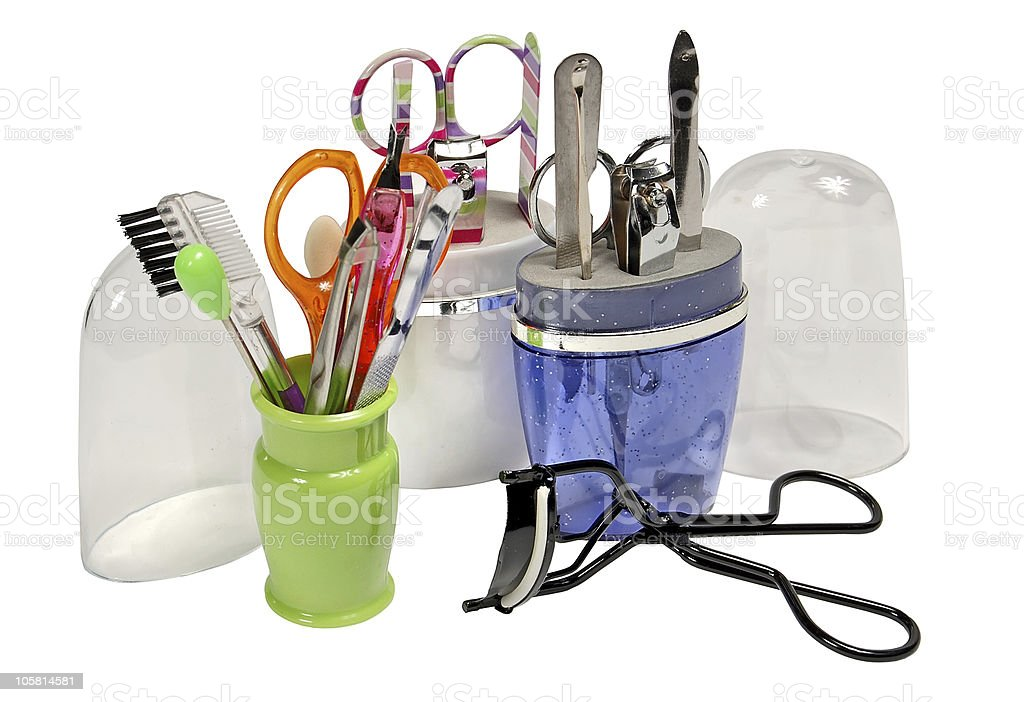 manicure tooling royalty-free stock photo