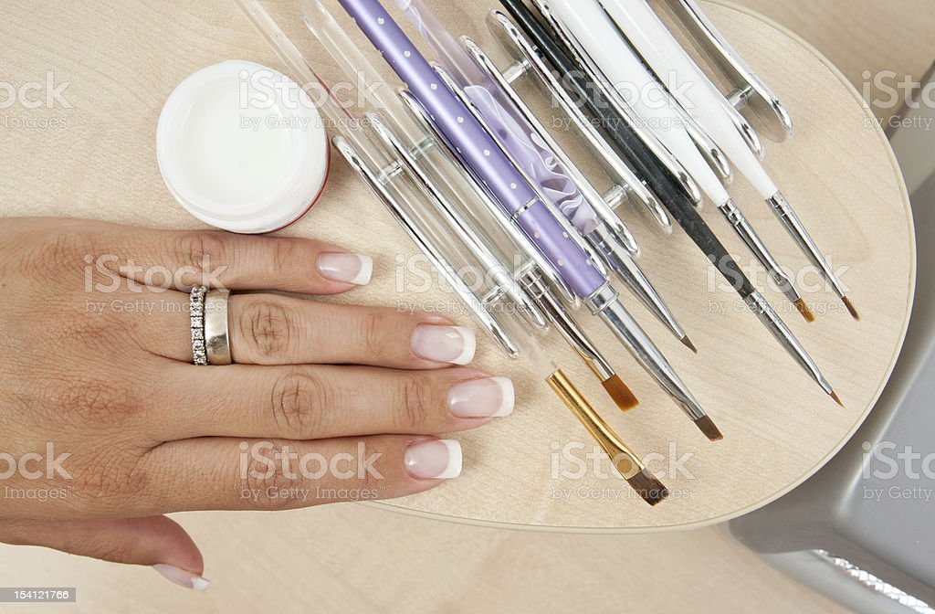 manicure tools royalty-free stock photo