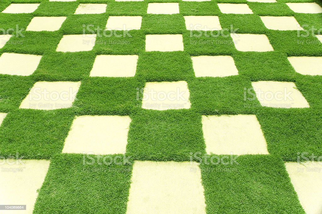 manicured lawn royalty-free stock photo