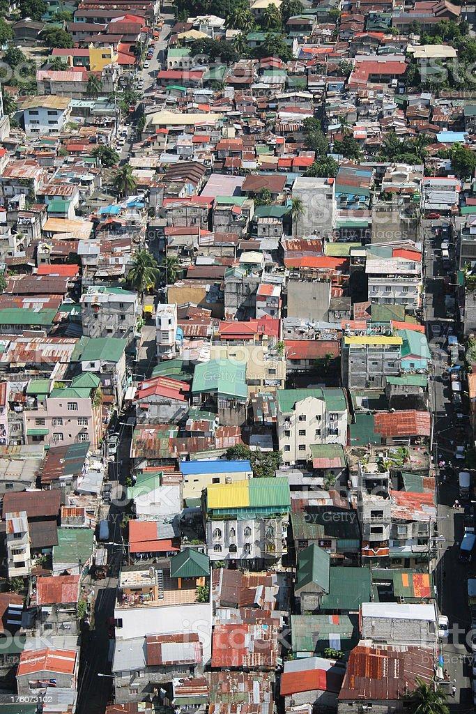 Manila Apartments royalty-free stock photo