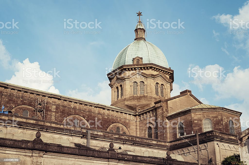Manila Cathedra, Philippines stock photo