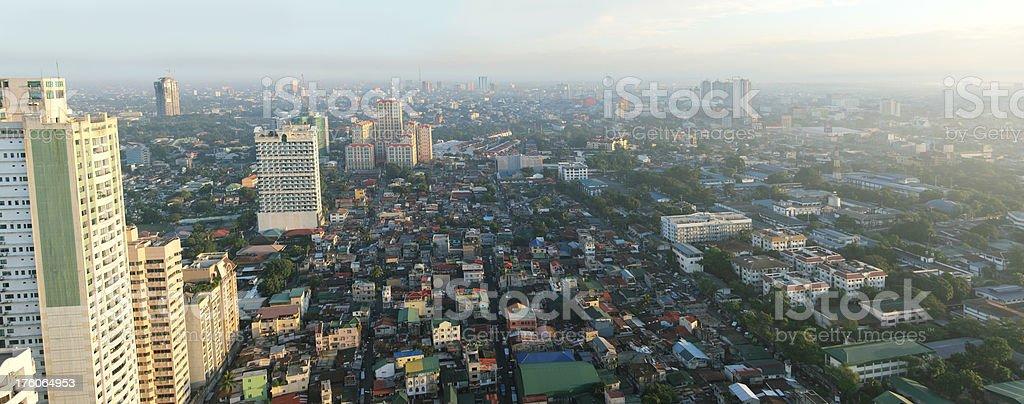 Manila Dawn royalty-free stock photo