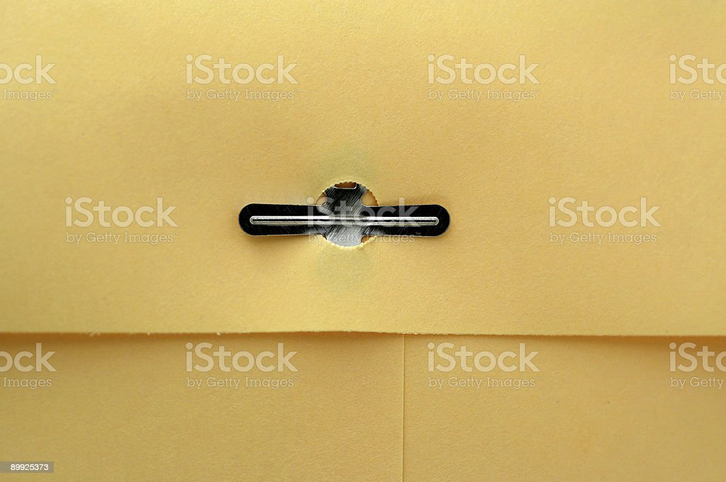 Manila envelope macro background stock photo