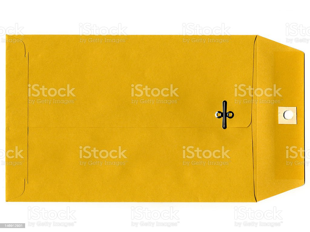 manila envelope royalty-free stock photo