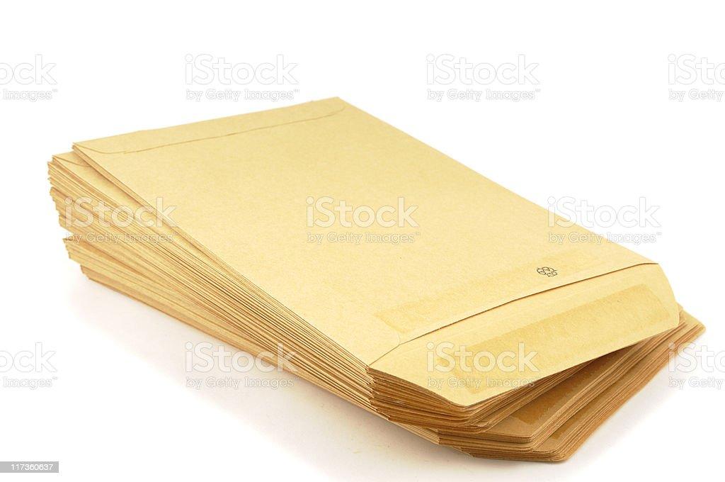 Manila Envelopes stock photo